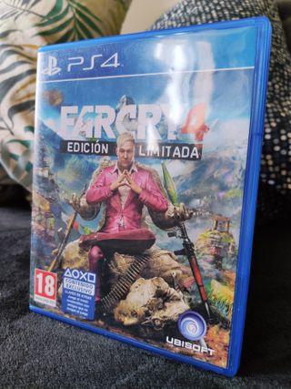 Farcry 4 Edición Limitada PS4
