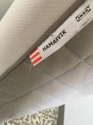 Colchón de muelles 135 x 190cm Hamarvik Ikea