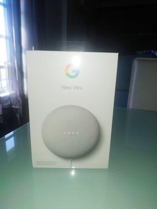Asistente Google Nest Mini