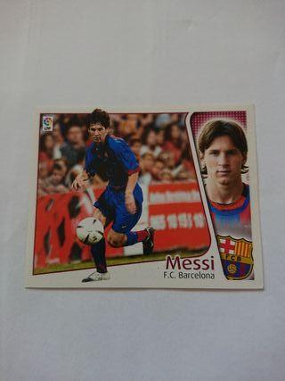 cromo liga este 04/05 Messi