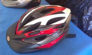 Dos cascos de bici Bell Crossfire talla L
