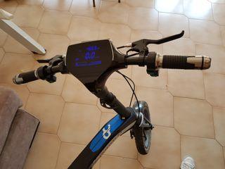 Bicicleta robstep electrica poco usada.