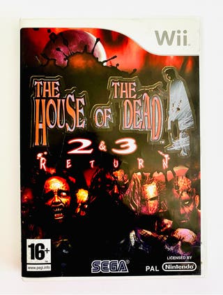 THE HOUSE OF THE DEAD RETURN - wii