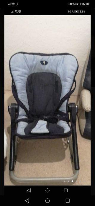 silla plegable bebé