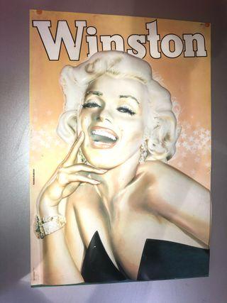 Marilyn Monroe por Winston.