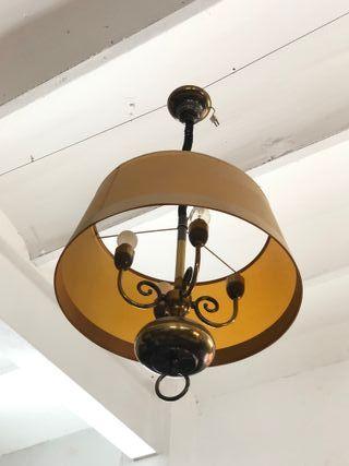 Lámpara de techo, antigua, marca Esbelta