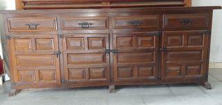 mueble alacena estilo castellano