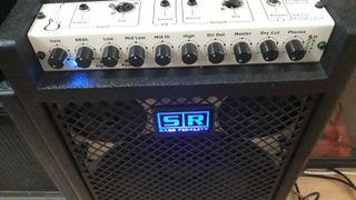 Amplificador bajo 400w SR ITALY