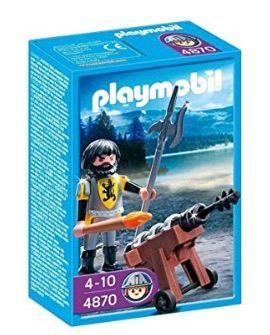 Playmobil: caballero con cañón. SIN ABRIR