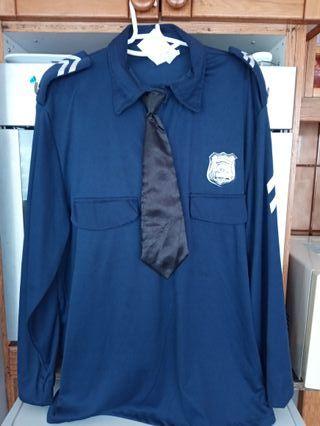 Disfraz Policia L 15