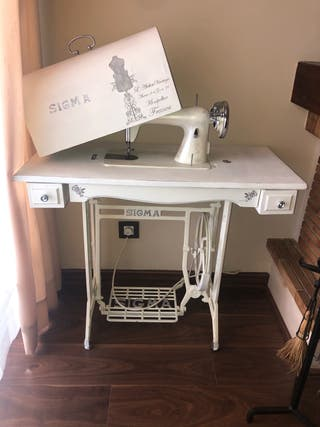 Maquina coser Sigma antigua vintage