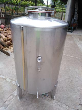 Deposito de vino de acero aisi304 1,5 mm