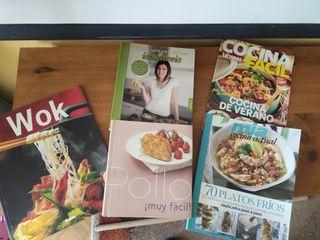 Set de libros de cocina