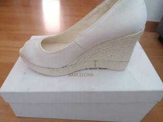 zapato novia o verano NUEVO de Eduard Castillo
