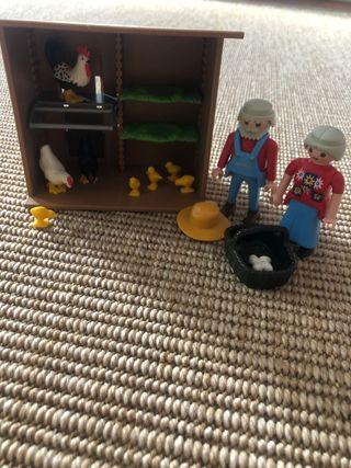 Pack playmobil granjeros