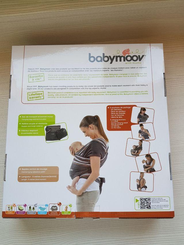 Fular portabebes llevar bebé porteo Babymoov