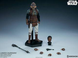 Lando Calrissian Sideshow collectibles