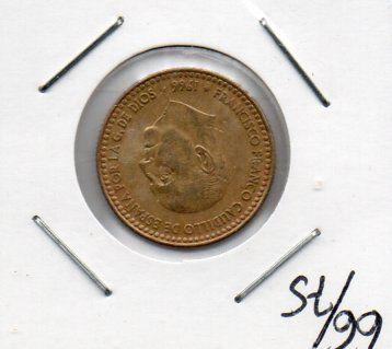 lote de monedas variado españolas epoca de franco