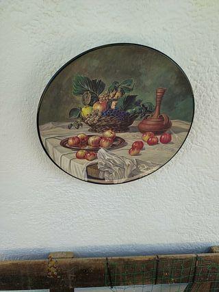 plato decoratibo
