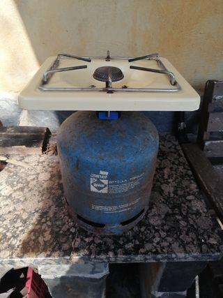 hornillo fogon camping gas