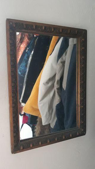 espejo,antiguo el marco.
