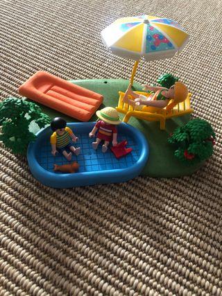 Pack playmobil piscina