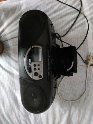 Radiocasette antiguo