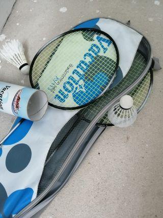Par raquetas de tenis