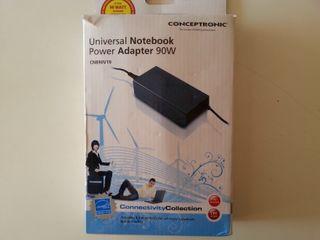 Cargador universal Conceptronic 90W