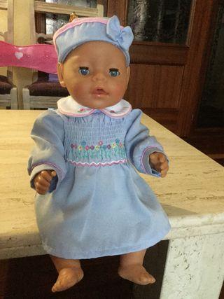 Ropa muñeca vestido