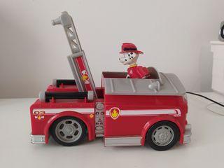 Coche bomberos Patrulla Canina