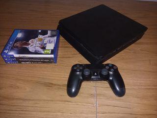 PS4 + mando y 3 juegos