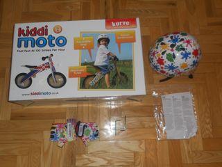 BICICLETA INFANTIL SIN PEDALES KIDDIMOTO KURVE +
