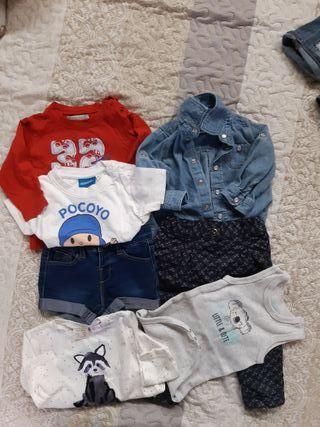 ropa bebé pack 42