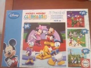 Puzzle Mickey Mouse Club House