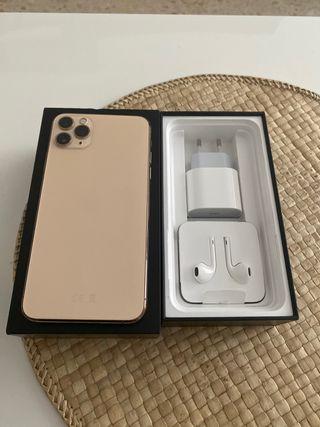 Iphone 11 pro max 64gb dorado