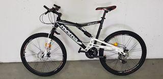 """Bicicleta 26"""" doble suspension"""