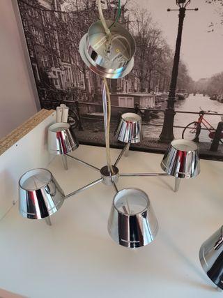 Juego 2 lámparas de techo
