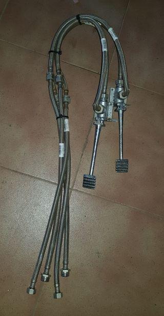llave de grifo de pedales