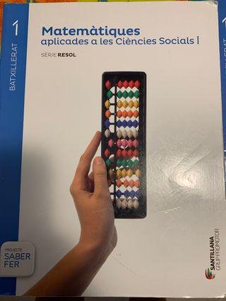 Matemátiques aplicados a les ciencies Socials I