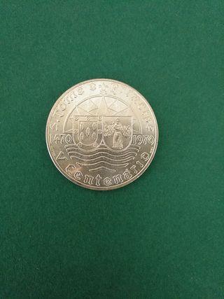 Moneda Plata. Santo Tomé y Príncipe.