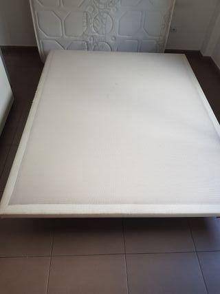 base tapizada para colchón