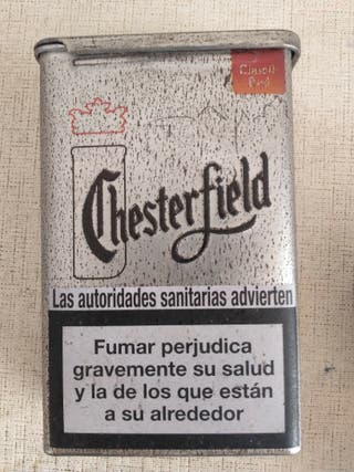 Cajetilla tabaco