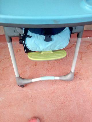 silla/mesa para bebé