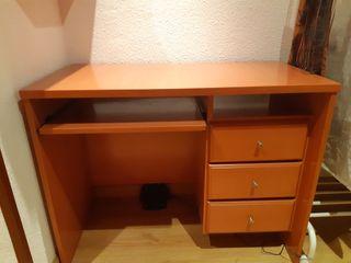 mesilla-escritorio clásica + estantes de regalo