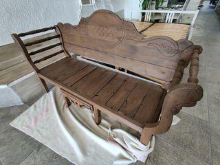 Sofá antiguo rustico