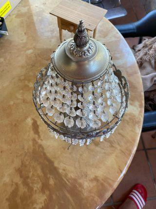 Lámpara con 38 años funciona