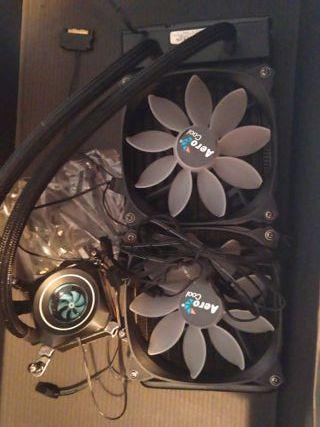 refrigeración liquida aerocool pulse l240f