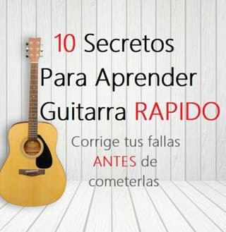 10 secretos para aprender guitarra