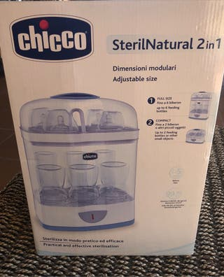 Esterilizador SterilNatural 2en1